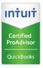 Certified QuickBooks Pro Advisor Seal